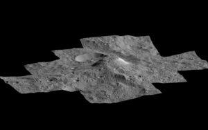 Ahuna mons en Ceres