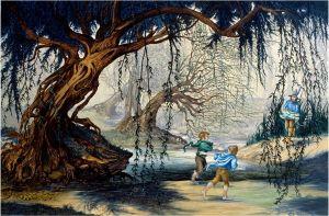 Frodo y Sam conocen a Tom Bombadil, según Roger Garland