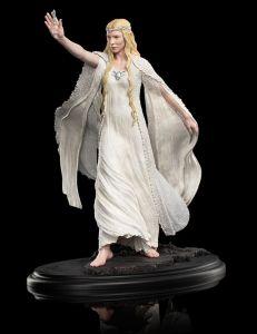 Escultura de Galadriel en Dol Guldur