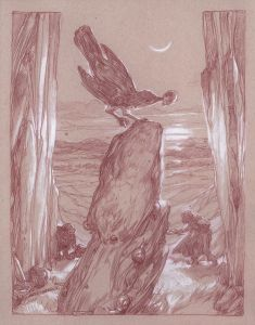 El zorzal, según Donato Giancola