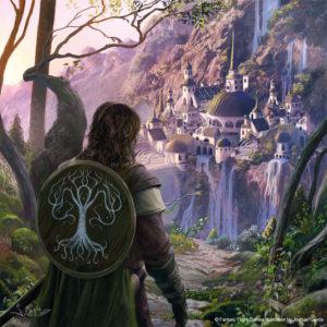Boromir llega a Rivendel, según Joshua Cairós