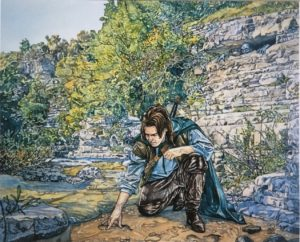 Aragorn busca a Gollum, según Stephen Graham Walsh