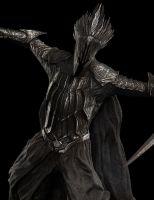 Escultura del Rey Brujo en Dol Guldur de Weta Workshop