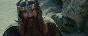 John Rhys-Davies como Gimli
