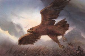 Las Águilas en batalla, según John Howe