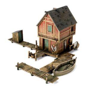 Casa de la Ciudad del Lago de Games Workshop