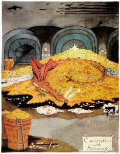 Conversación con Smaug, de J.R.R. Tolkien