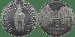 Moneda de la Ciudad del Lago de Shire Post Mint