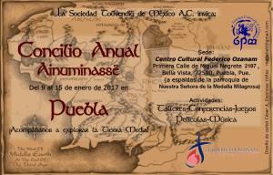 Concilio Anual 2017 de la Sociedad Tolkiendili de México A.C.