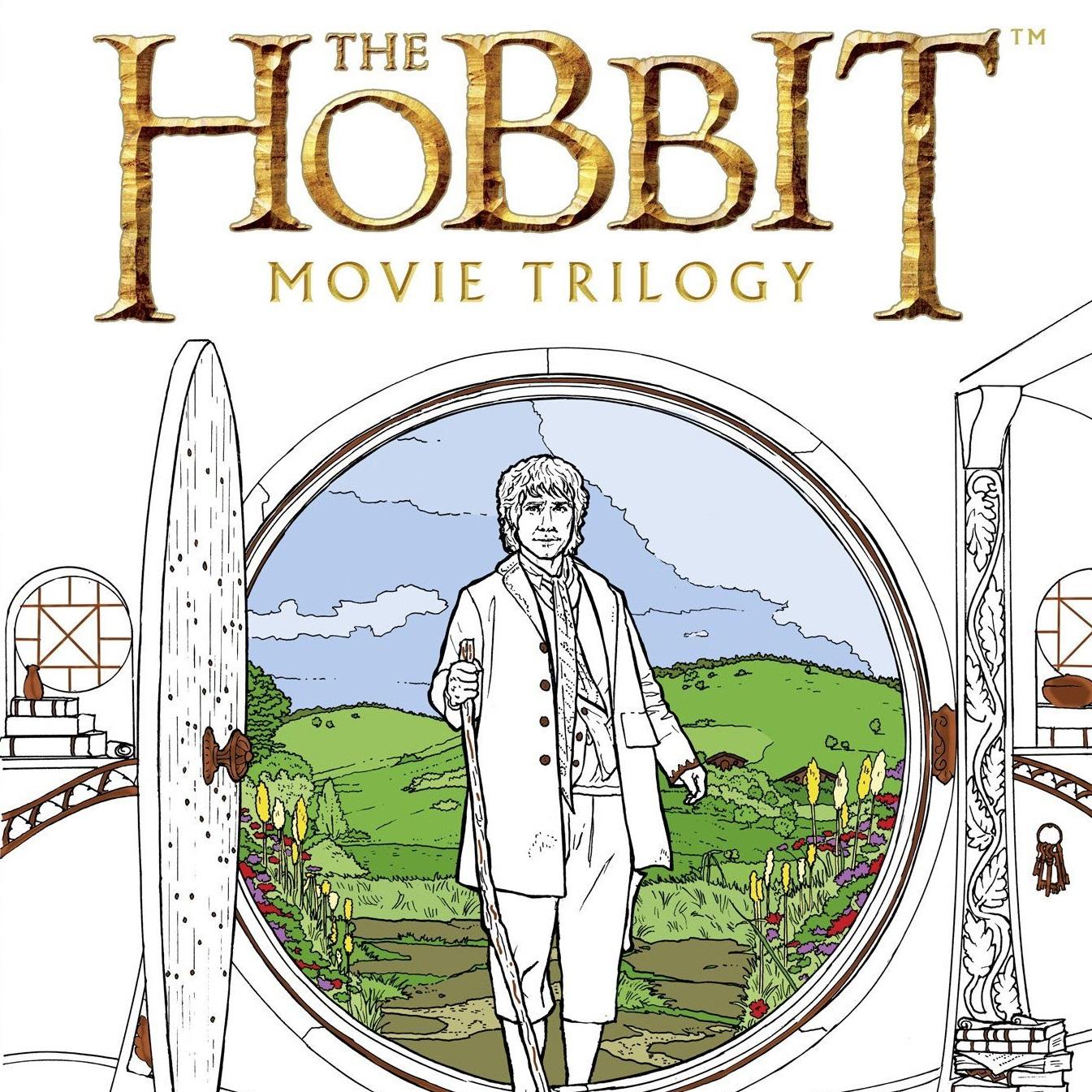 Libro para colorear de las películas de \'El Hobbit\' | El Anillo Único