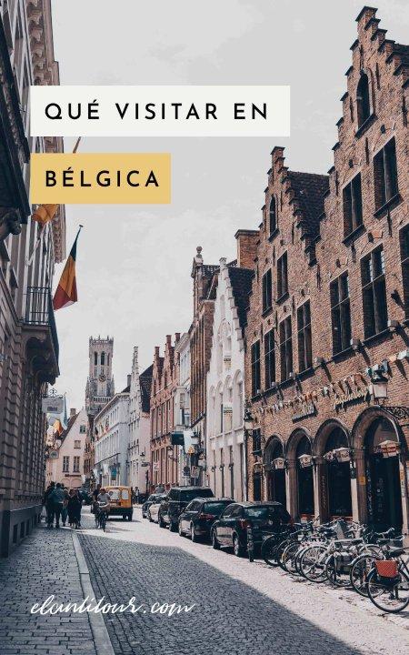 Qué visitar en Bélgica
