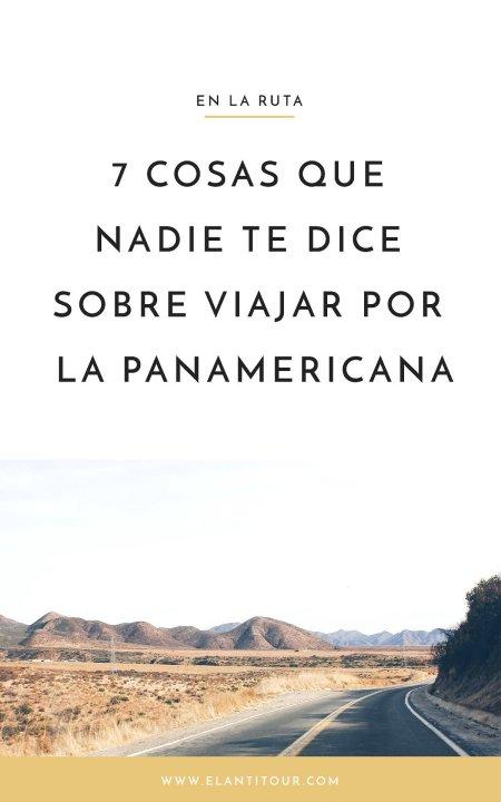Viajar por la Panamericana