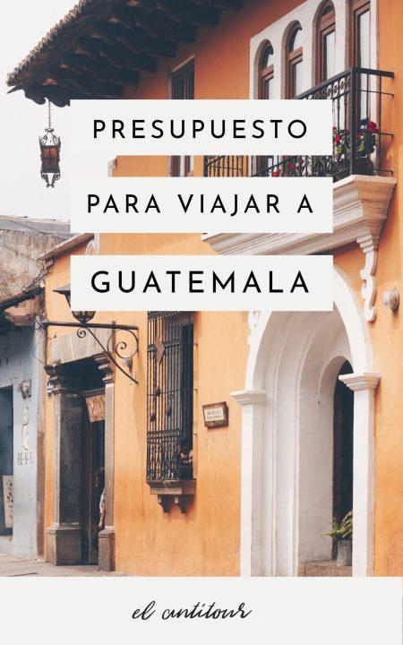 cuanto sale un viaje a guatemala