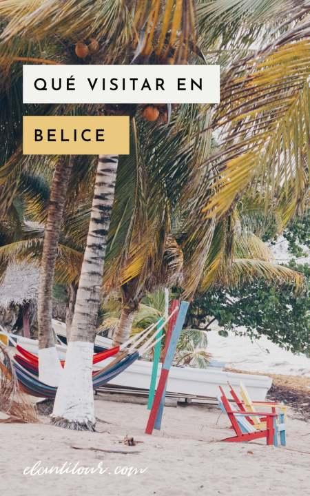 Que visitar en Belice