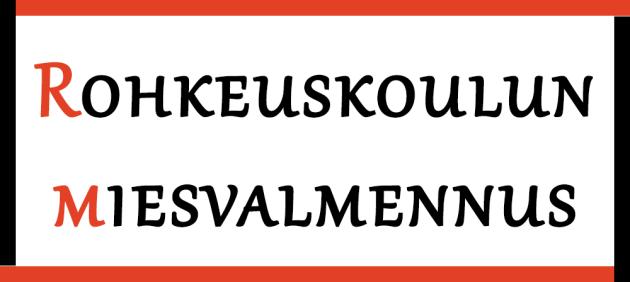 rohkeuskoulun miesvalmennus logo v1