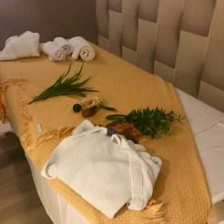 Diversas massagens no Spa