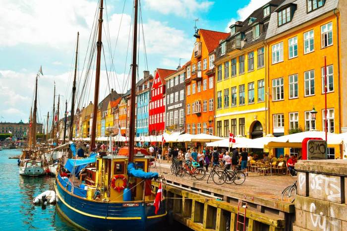 Copenhague, a capital da Dinamarca