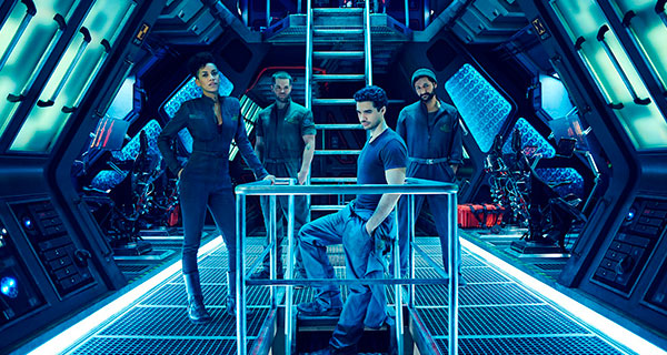 ex4 - The Expanse 1ª Temporada, Intriga espacial