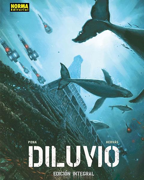 DILUVIO PORTADA - Diluvio , postapocalipsis acuático