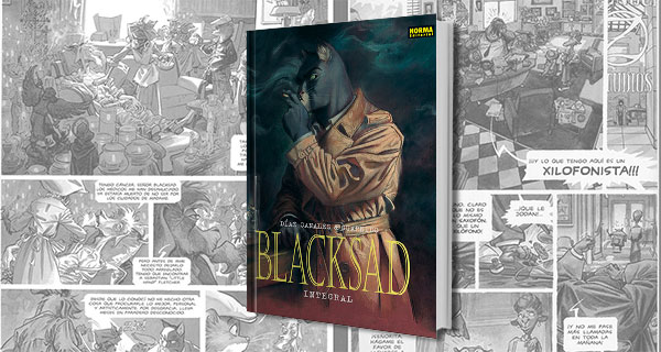 Blacksad Integral: Novela negra con un toque animal