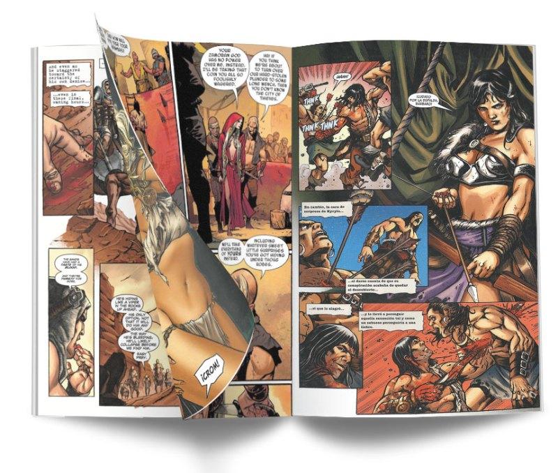 CONAN ASESINO INTERIOR - Conan el Asesino, Integral. El cimmerio y los kozacs