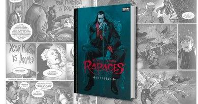 RAPACES PORTADA - Rapaces, integral: Vampiros y sociedades secretas