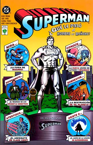 SUPERMAN QUE PASO PORTADA - ¿Qué le pasó al Hombre del Mañana? El mejor epílogo de Superman
