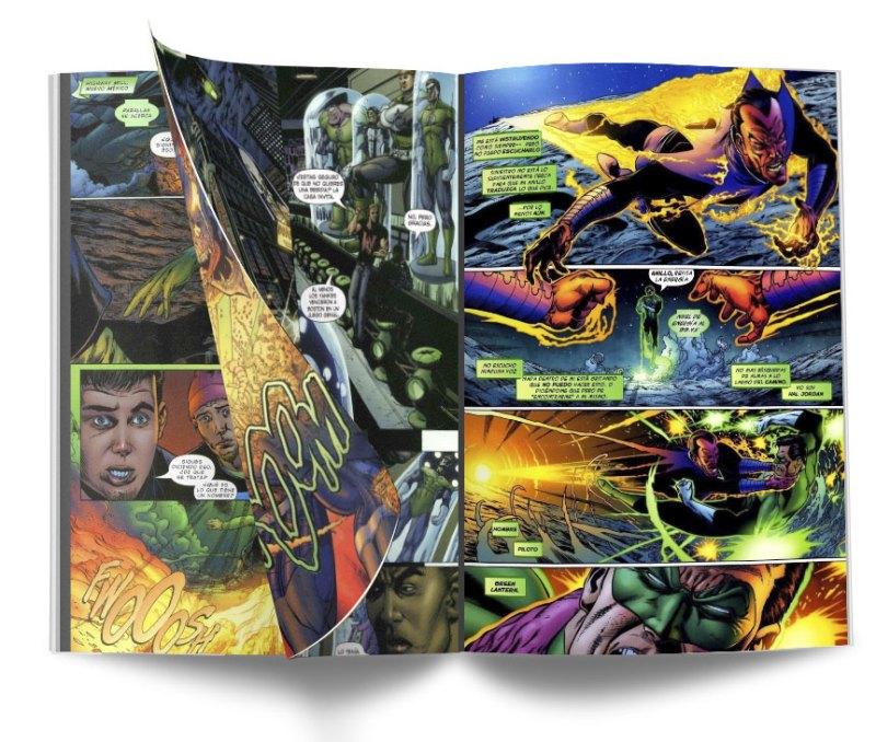 GREEN INTERIOR - Green Lantern, Renacimiento: El regreso de Hal Jordan