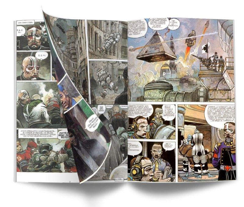 NIKOPOL INTERIOR - Trilogía Nikopol. La joya del cómic europeo de Enki Bilal