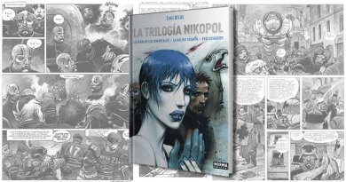 NIKOPOL TOT - Trilogía Nikopol. La joya del cómic europeo de Enki Bilal