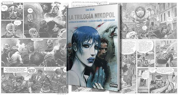 Trilogía Nikopol. La joya del cómic europeo de Enki Bilal