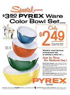1955. pyrex-mothers-day