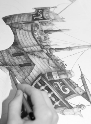 Ilustración inspiradora