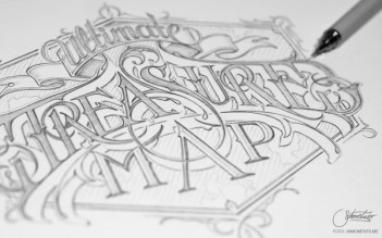 Lettering artesanal inspiración