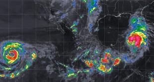 El enorme huracán Michel toca tierra de Estado Unidos