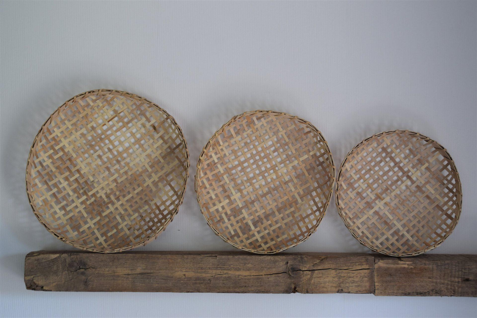 Bambus Schale Mittel