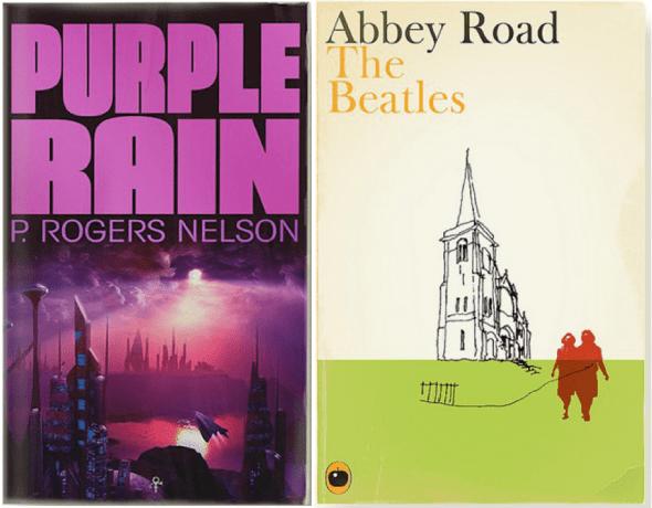 Purple Rain de Prince y Abbey Road de The Beatles.