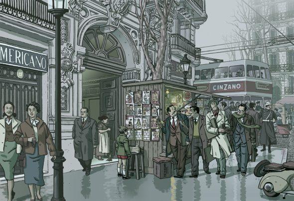 Una ilustración de Paco Roca.