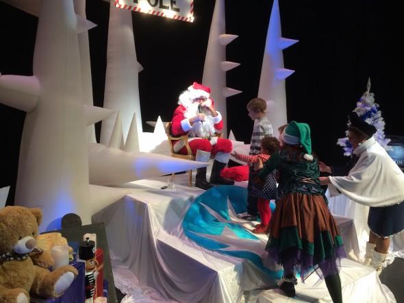 Leo Bassi en el espectáculo Crazy Christmas Show!. Foto: Javier Pizarro.