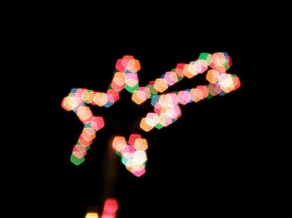 Luces de Navidad. Foto: Martín Tebes / Flickr Creative Commons.