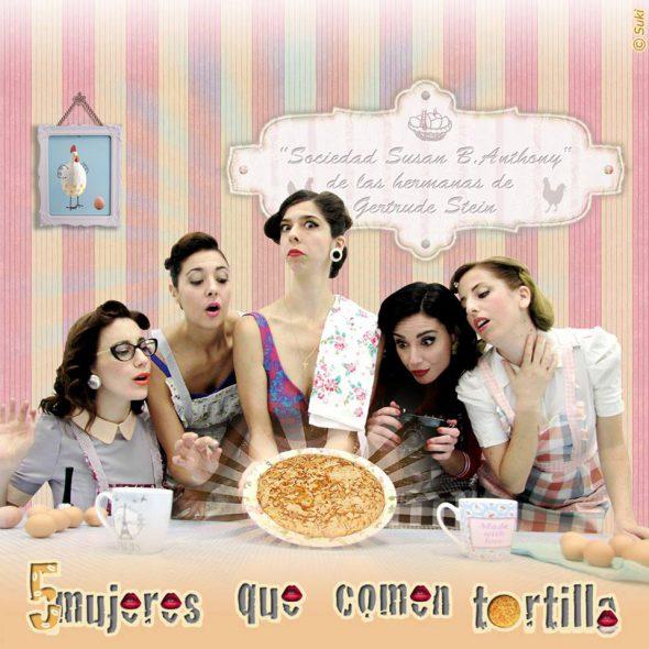 mujeres-comen-tortilla