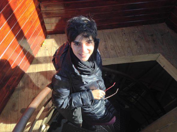 La escritora Alia Trabucco.