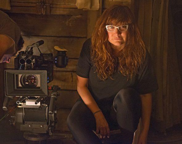 La directora Isabel Coixet durante el rodaje de 'Nadie quiere la noche'