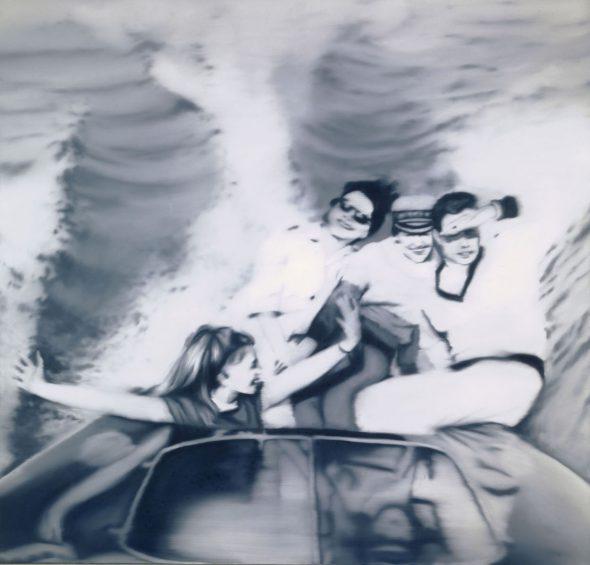 Gerhard Richter (* 1932); Motorboot; 1965