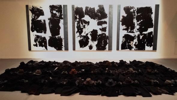 Obra de Jannis Kounellis en la feria ARCO.