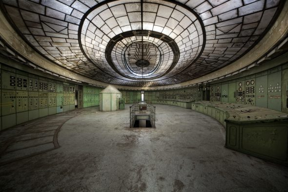 La sala del reactor que sufrió el accidente en Chernóbil. Foto: Andreas S. / Flickr Creative Commons.