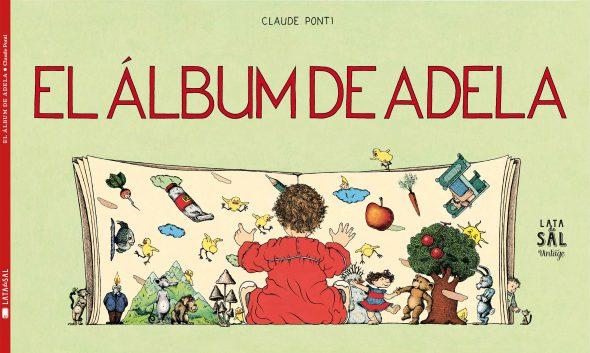 Portada de 'El álbum de Adela'.