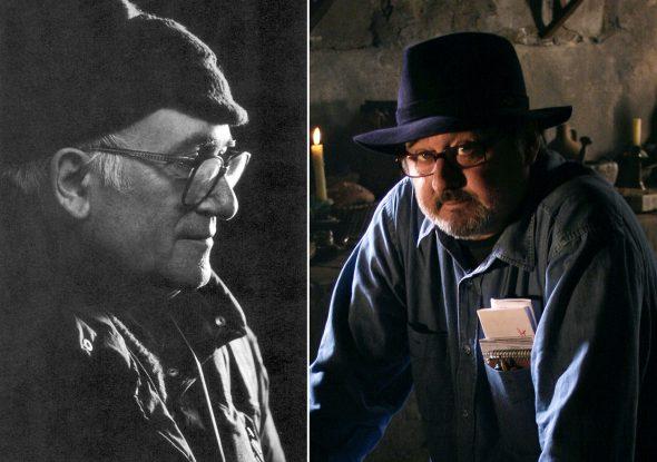 A la izquierda, Vicente Aranda. Foto extraída del libro 'Vicente Aranda: El cine como pasión', de Rosa Álvarez / Belén Frías (36 Semana Internacional de Cine de Valladolid, 1991). A la derecha, el