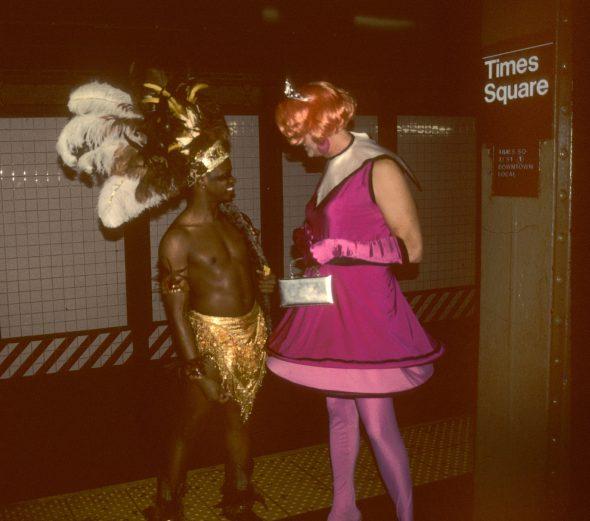 Estación de metro de Times Square. Fotografía: Steven Seigel.