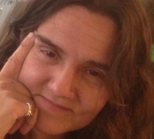 La escritora Ángela López.